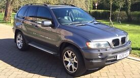 BMW X5 3.0d Sport Low Mileage Private Plate 2003