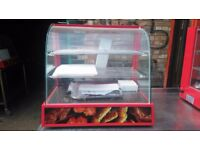 CHICKEN SHOP FASTFOOD CHICKEN PIE PANINI HOTFOOD WARMER HOT DISPLAY SHOWCASE CABINET TAKEAWAY CAFE
