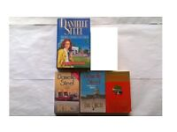 5 Danielle Steel Novels 4 Books Now & Forever, Full Circle, Changes, The Ring, Fine Things