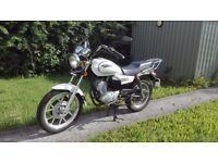 Sinnis SC125 Custom Style Motorbike