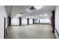2600 sq. ft Warehouse to Let Storage Unit Office Commercial Venue Large Hall to Rent Birmingham