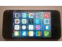 iphone 4, 16gb, black, unlocked, good cosmetic & working order,