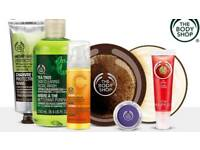 Bodyshop products 40% off