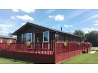 """Holiday Lodge for sale at Yaxham Waters Holiday Park Norfolk pitched on a Fishing Lake """"Beautiful""""!!"""