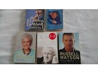 Autobiography`s and Biography`s