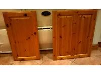 Kitchen Unit Doors Pine