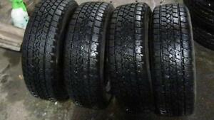 185/65R15,95% TREAD,4 ARCTIC CLAW 185 65 15 WINTER TIRES WITH 5.5x15, 4x114.3 STEEL RIMS
