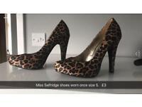 Women's shoes from Miss Selfridge