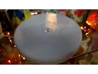25cm SHOP DISPLAY ROTATING TURNTABLE 360 DEGREE HEAVY DUTY BASE 3D PHOTOGRAPHY