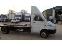 Iveco 6t recovery/Transporter, beavertail ,winch and ramps ideal vintage tractos, land rovers ect