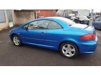 Peugeot 307cc Automatic Blue 2004 Leather Seats