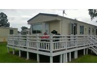 Caravan with decking Rosneath for sale