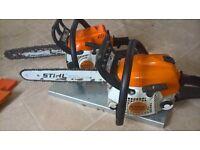 Stihl Chainsaws ms 180c/ms 181.