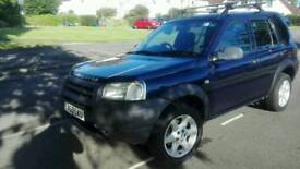 2003 low village Land Rover Freelander 1.8 petrol