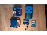 Nintendo Gameboy Colour with Pokemon Red and Accessories