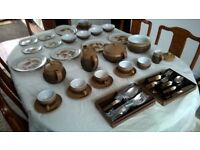 Denby Langley Cotswold Dinner & Tea service