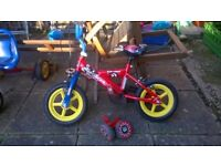 Sonic kap pow 12 inch boys bike