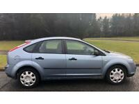 FORD FOCUS 1.6l LX (2006) year mot 5 door low 74,000 miles