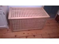 wooden chest storage box ikea