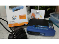 linksys etherfast cable / dsl router with 8 port switch