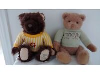 2 Lovely collectable Bears - Giorgio Beverly Hills 2004 and Macys New York.