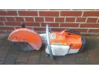 Stihl ts400 2 stroke cut off saw