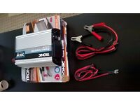 TRONIC Power Inverter, 300 Watts, Converts 12 Volts (DC) to 220-240 Volts (Alternating Current)