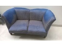 Fantastic antique 2 / 3 seater arcmchair - very unusual