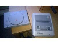 snes, ps1, dreamcast, original x-box consoles