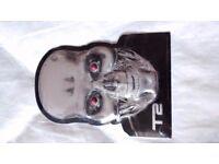 New T2 Terminator 2 3D metal plate - movie memorabilia stocking filler