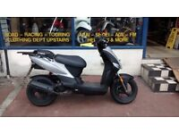 Kymco Agility 50cc Scooter Year 2010 with New MOT and 3 months warranty