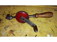 Vintage Hand Drill