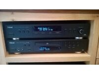 Teac Stereo CD Player w USB port £110 ONO and Teac Dab Tuner £85 ONO For sale together or separately