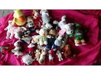 Cuddly toys , large selection , bargain