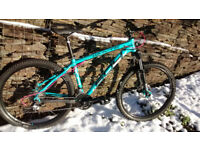Whyte 604 Mountain Bike – Size Medium **UPGRADES**