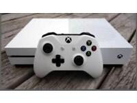 Xbox1s 500gb with FIFA 18, Wwe 2K18, battlefront 2