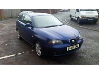 2006 seat ibiza 1.9 tdi (pd) very low miles full history very clean