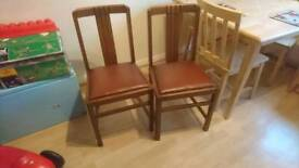 Ercol chairs x 4