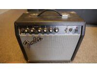 Fender Frontman 15G Electric Guitar Amplifier- Great Sounding Practice Amp