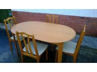 DINING ROOM TABLE AND CHAIRS DINING TABLE DINING ROOM CHAIRS 4 DINING CHAIRS DINING TABLE AN FOUR