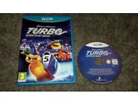 "Wii U game ""TURBO the snail"""