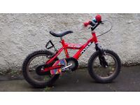 "Kids bike, 14"" wheels"