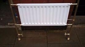 Myson brass towel rail radiator excellent (£400 new) central London bargain