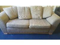 M&S Lincoln large medium sofa bed