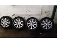 """16"""" Volkswagen Passat alloy wheels and tires"""
