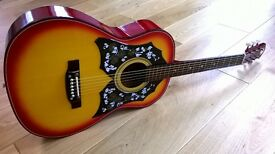 Vintage Kay Electro-Acoustic Guitar