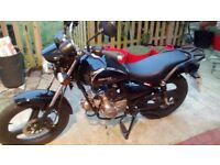 Zontes Tiger geared 50 moped