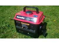 Generator, 2 stroke petrol, 720 watt, good working order.