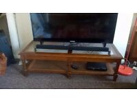 Glass Coffee Table - great condition. Also perfect as large TV stand