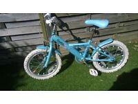 Girls Apollo Sparkle bike 5-7 years
